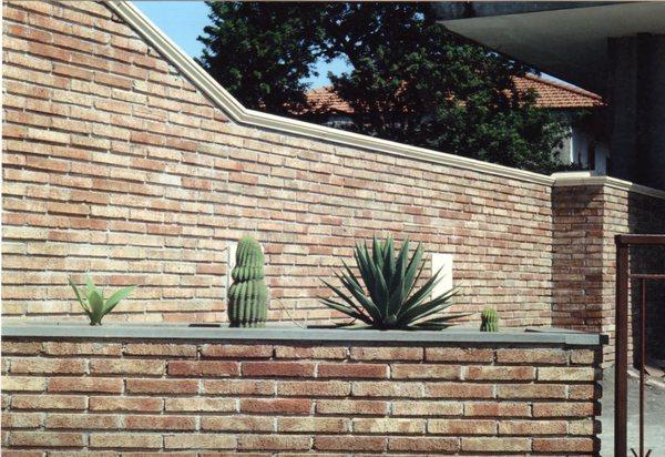 Mattone in terracotta mattoni in terracotta mattoni in - Piastrelle rivestimento esterno ...